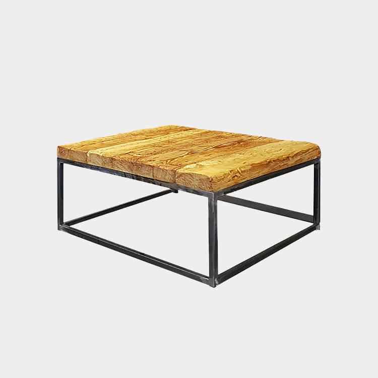 Designer Reclaimed Wood Coffee Table, Reclaimed Wood Outdoor Furniture